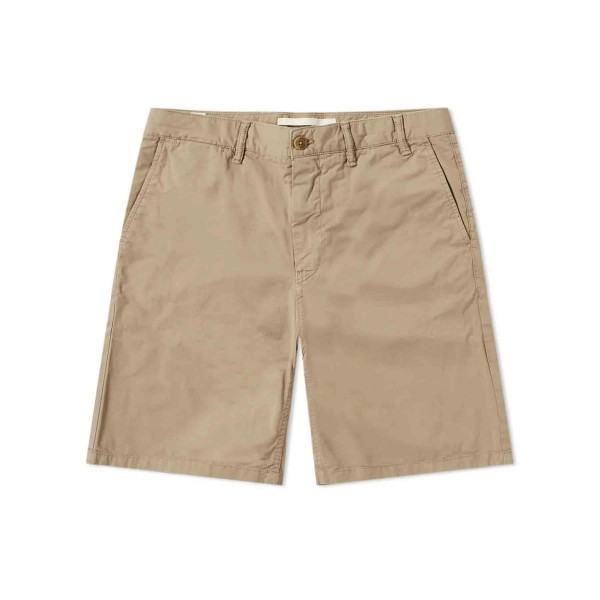 Norse Projects Aros Slim Light Twill Short (Khaki)