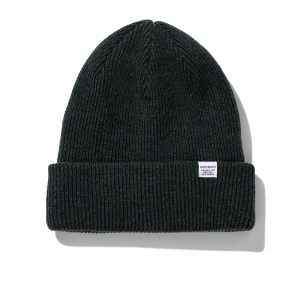 Norse Projects Beanie (Forest Green)