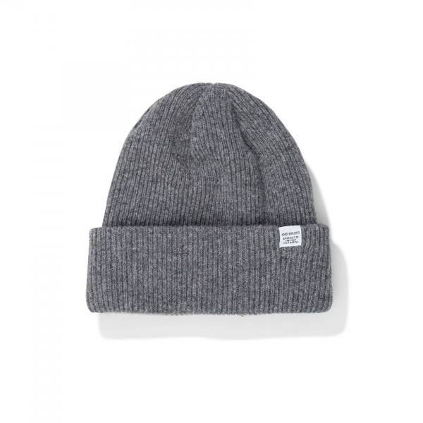 Norse Projects Beanie (Light Grey Melange)