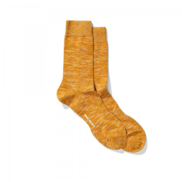 Norse Projects Bjarki Blend Socks (Montpellier Yellow)
