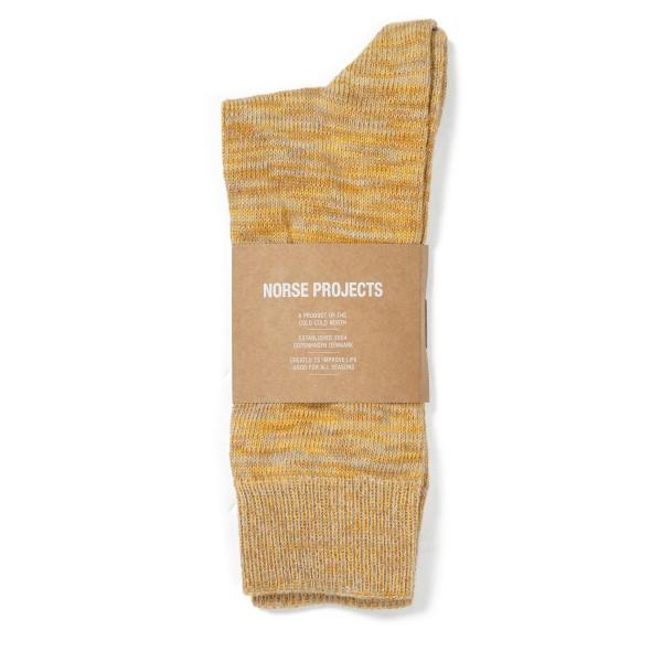 Norse Projects Bjarki Blend Socks (Sunwashed Yellow)