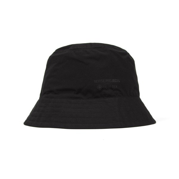 Norse Projects GORE-TEX Bucket Hat (Black)