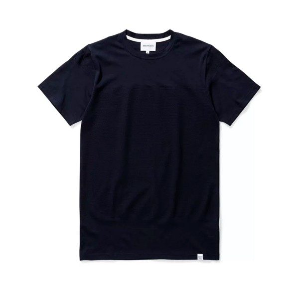 Norse Projects Niels Bubble T-Shirt (Dark Navy)