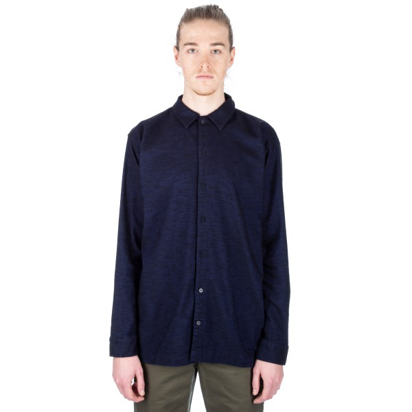 Norse Projects Nohr Tonal Shirt (Navy)