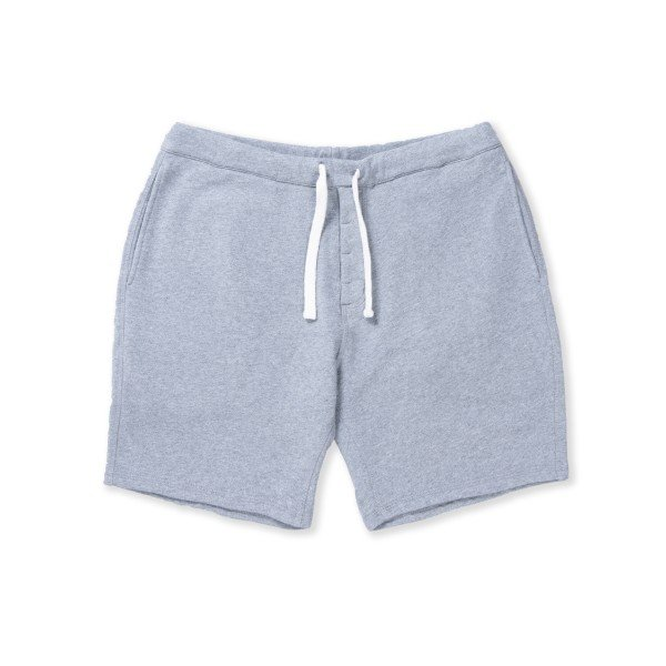 Norse Projects Ro Short Solid Brushed (Light Grey Melange)