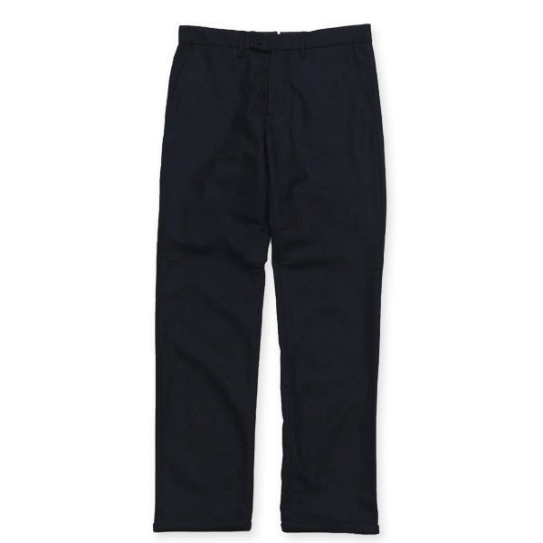 Norse Projects Thomas Slim Light Wool Trousers (Dark Navy)