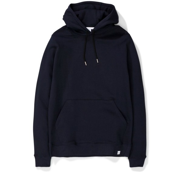Norse Projects Vagn Classic Pullover Hooded Sweatshirt (Dark Navy)