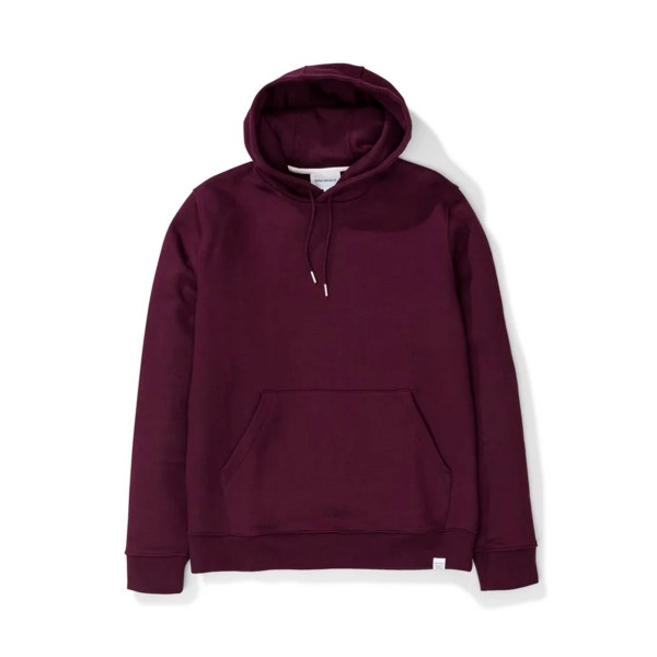 Norse Projects Vagn Classic Pullover Hooded Sweatshirt (Ritteri Purple)