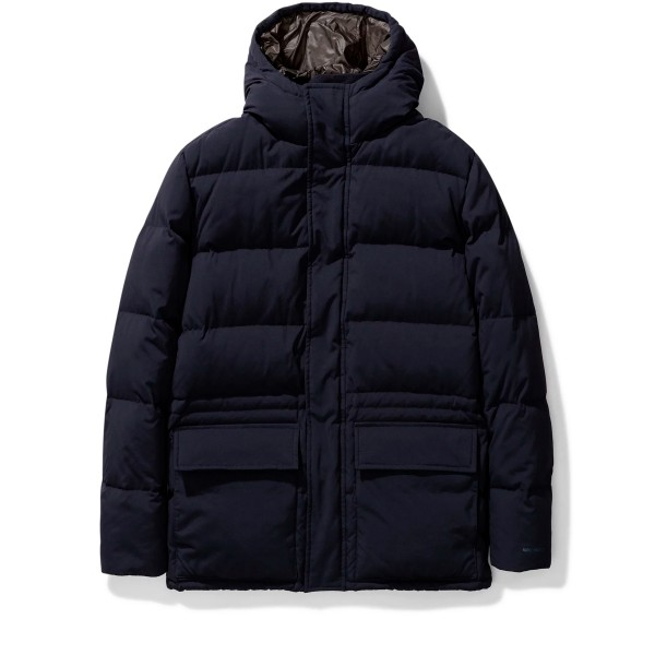 Norse Projects Willum Dry Nylon Jacket (Dark Navy)
