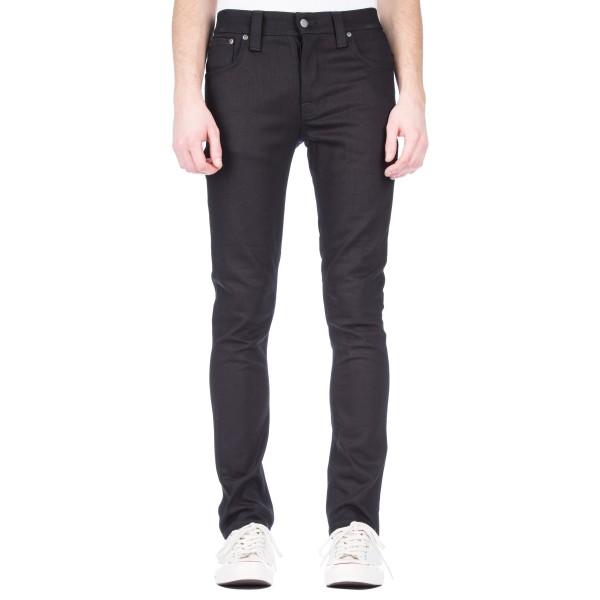 Nudie Jeans Grim Tim Denim Jeans (Black Ring)