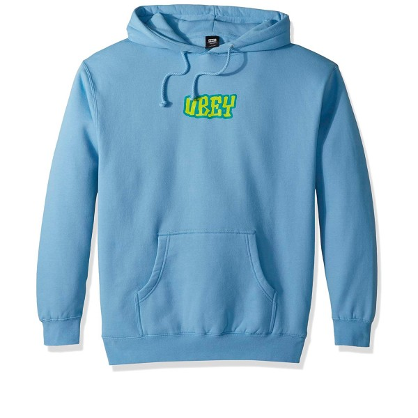 Obey Better Days Pullover Hooded Sweatshirt (Powder Blue)