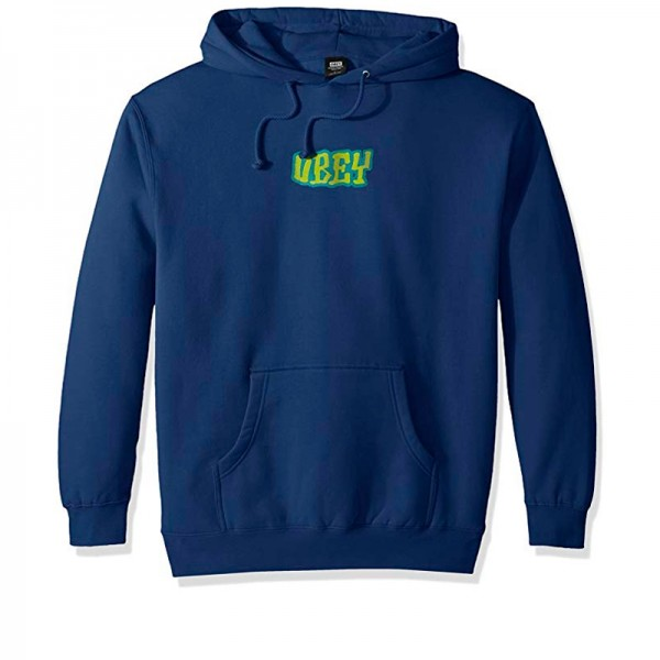 Obey Better Days Pullover Hooded Sweatshirt (Royal Blue)