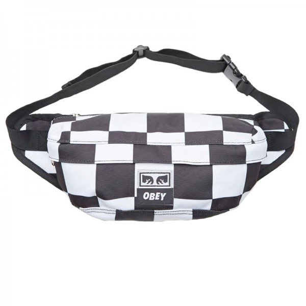 Obey Drop Out Sling Pack (Checkerboard)
