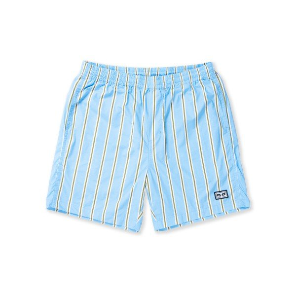 Obey Easy Stripe Short (Stripe Blue Multi)