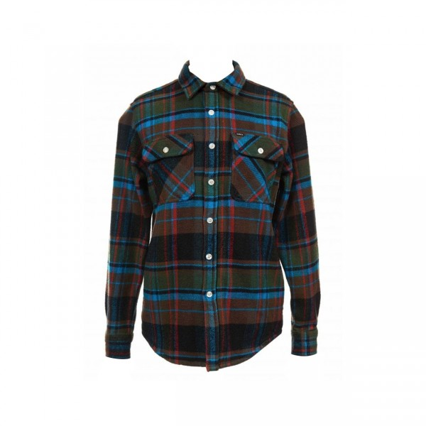 Obey Homebound Woven Shirt (Black Forest Multi)