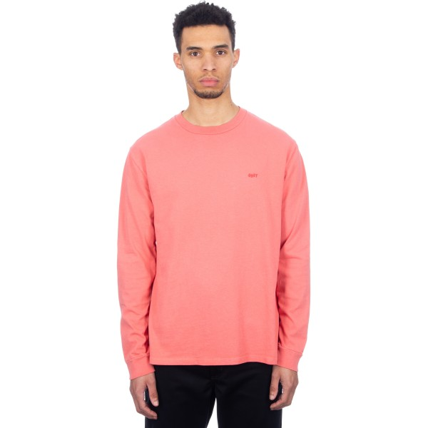 Obey Jumble II Pigment Long Sleeve T-Shirt (Dusty Ember)