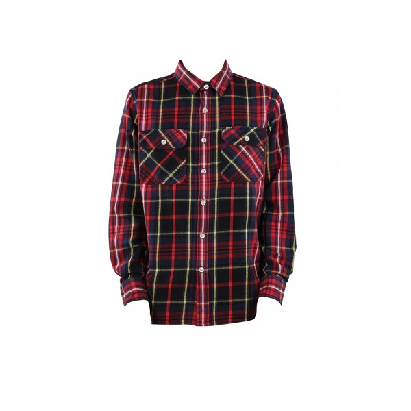 Obey Nelson Woven Shirt (Black Multi)