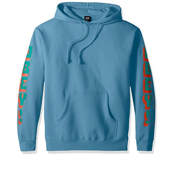 Obey New World 2 Pullover Hooded Sweatshirt (Powder Blue)