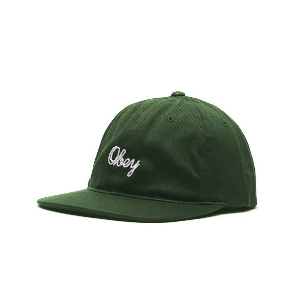 Obey Stratford 6 Panel Cap (Army)