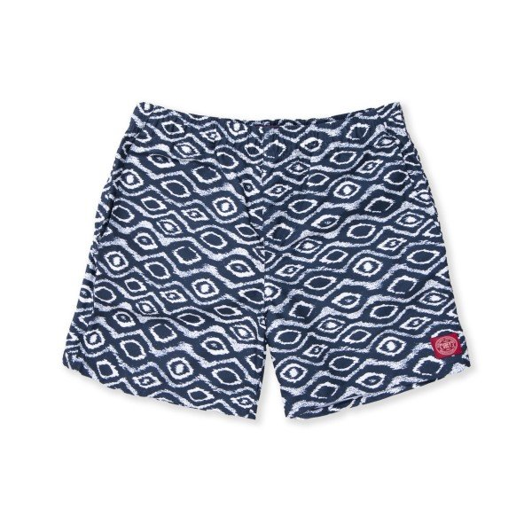 Obey Temple Street Board Short (Indigo)