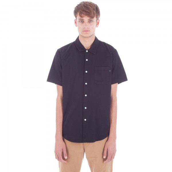Obey Tour City Woven Shirt (Black)