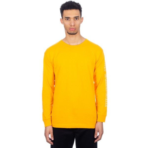 Obey Worldwide Outline Long Sleeve T-Shirt (Gold)
