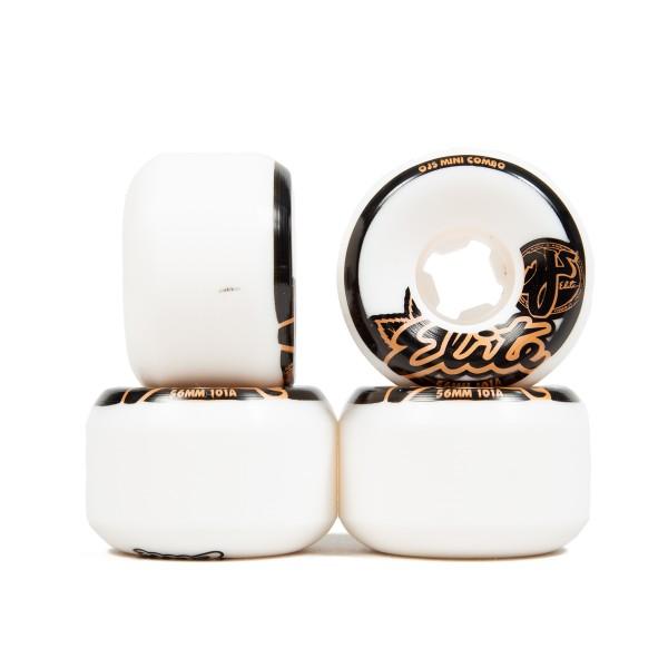 OJ Wheels Elite Mini Combo 101a Skateboard Wheels 56mm (White)