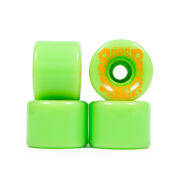 OJ Wheels Super Juice 78a Soft Skateboard Wheels 60mm (Green)