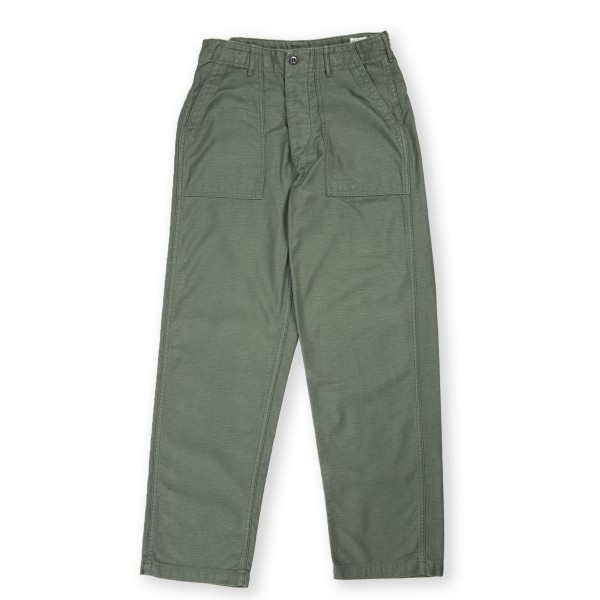 orSlow Regular Fit US Army Fatigue Pant (Green)