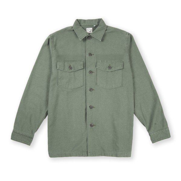 orSlow US Army Shirt (Used Green)