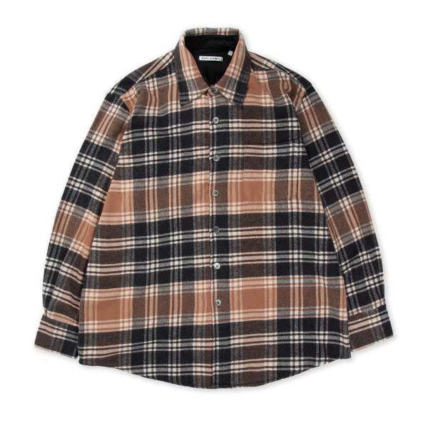 Our Legacy Above Shirt (Brown Plaid)