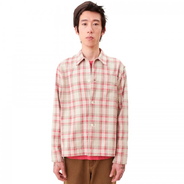 Our Legacy Box Shirt (Pink Check)