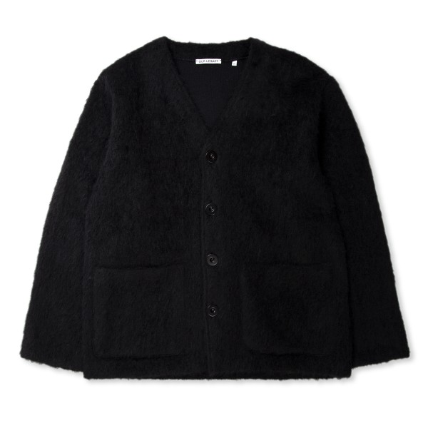 Our Legacy Cardigan (Black Mohair)