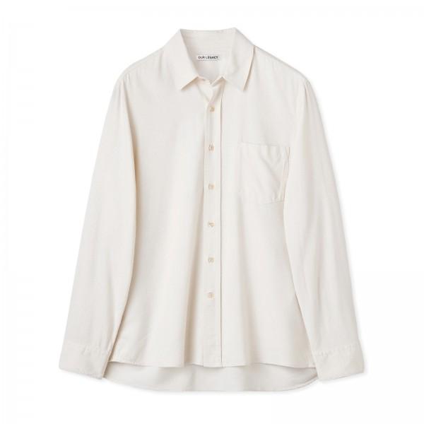 Our Legacy Classic Shirt (White Silk)