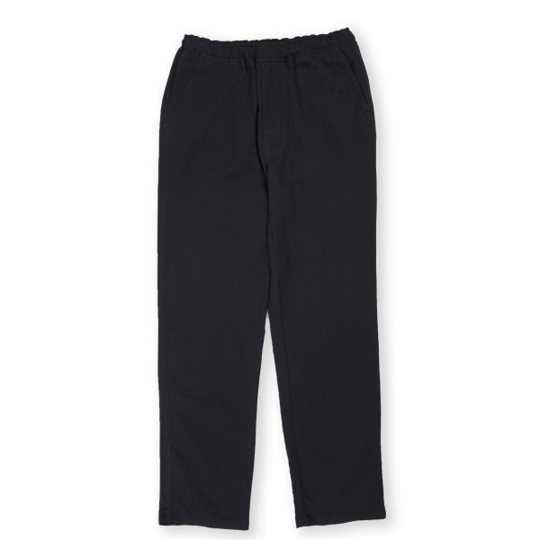 Our Legacy Relaxed Trouser (Black Wool Linen)