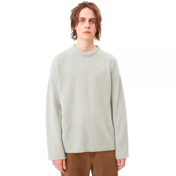 Our Legacy Sonar Round Neck Jumper (Light Blue)