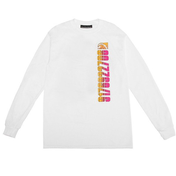 Call Me 917 Tony Island Long Sleeve T-Shirt (White)