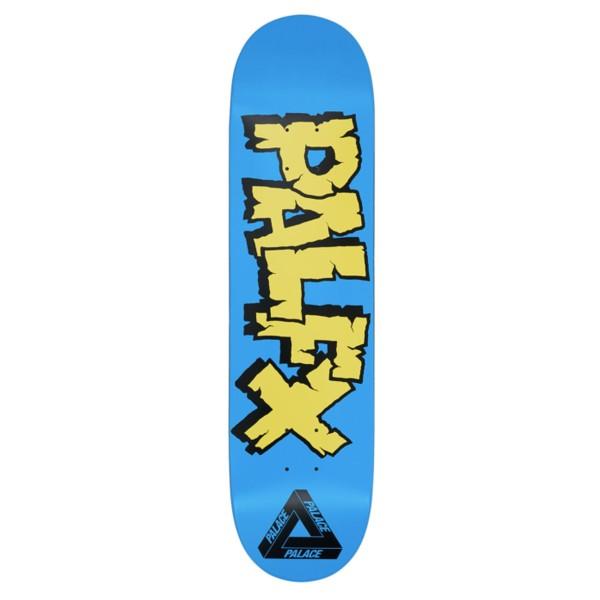 "Palace NEIN FX Skateboard Deck 8.0"" (Blue)"