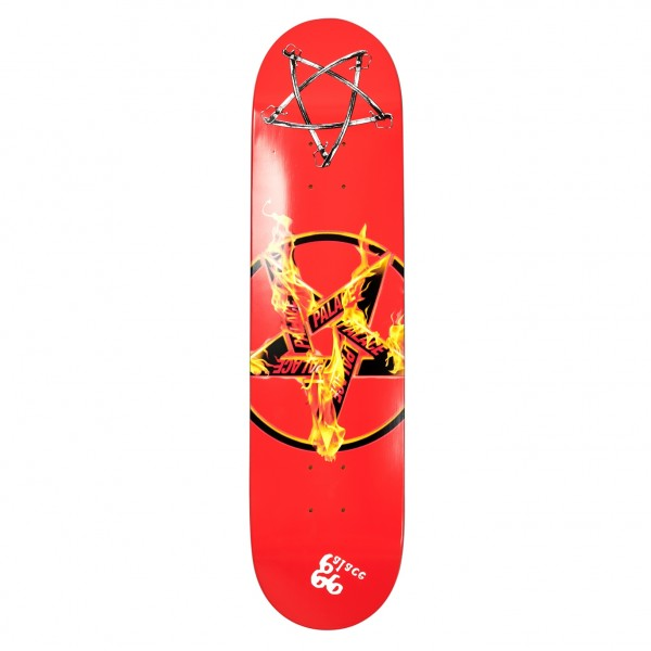 "Palace Pentagram Skateboard Deck 7.75"""