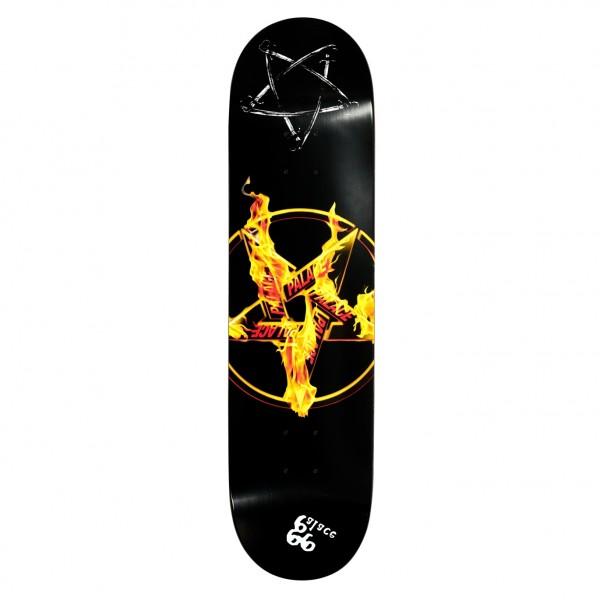 "Palace Pentagram Skateboard Deck 8.1"""