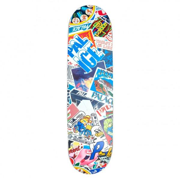 """Palace Sticker Pack Slick Skateboard Deck 8.6"""""""