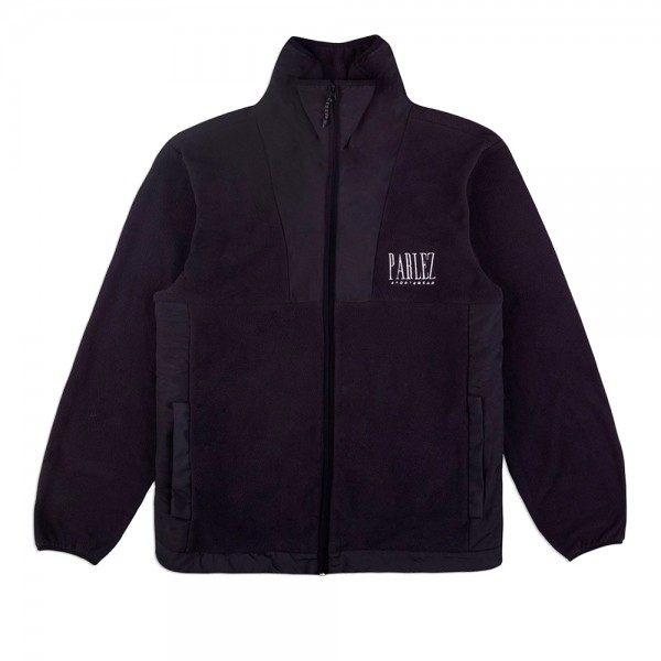 Parlez Yard Fleece Jacket (Black)