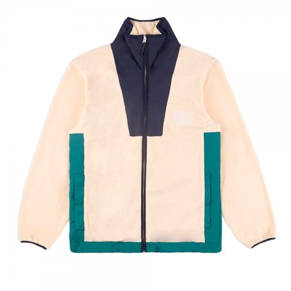 Parlez Yard Fleece Jacket (Cream)