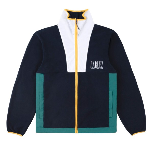 Parlez Yard Fleece Jacket (Navy)