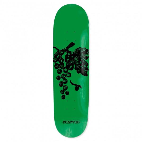 """PASS~PORT Life of Leisure Series Grape Skateboard Deck 8.0"""""""