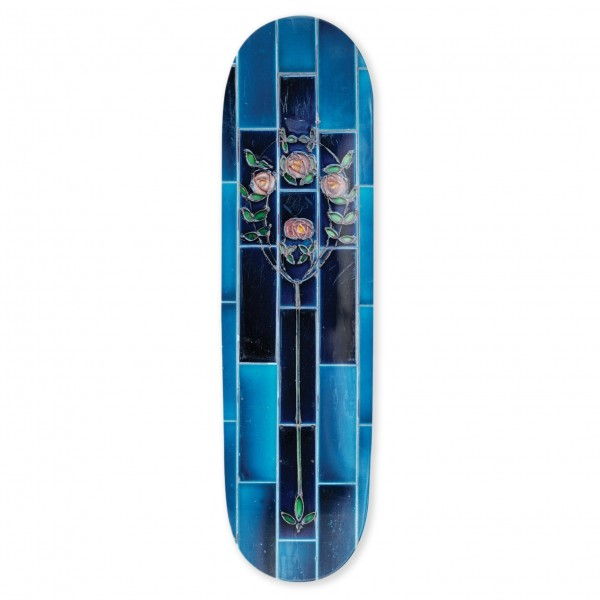 "PASS~PORT Tile Life Series Skateboard Deck 8.0"" (Blue)"