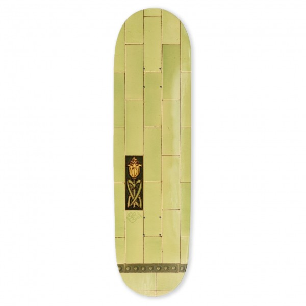 "PASS~PORT Tile Life Series Skateboard Deck 8.125"" (Lime)"