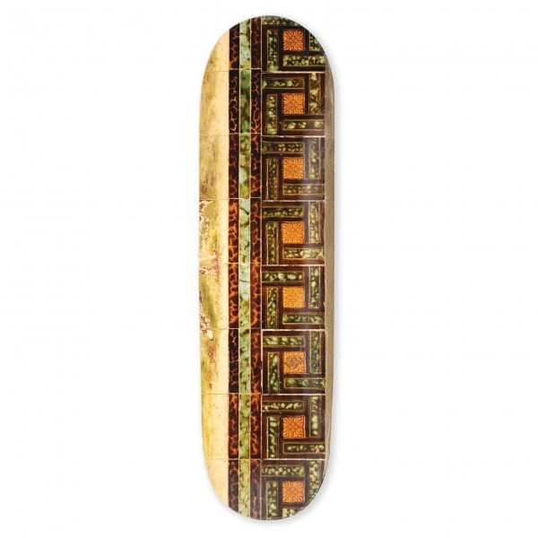 "PASS~PORT Tile Life Series Skateboard Deck 8.5"" (Tortoise)"