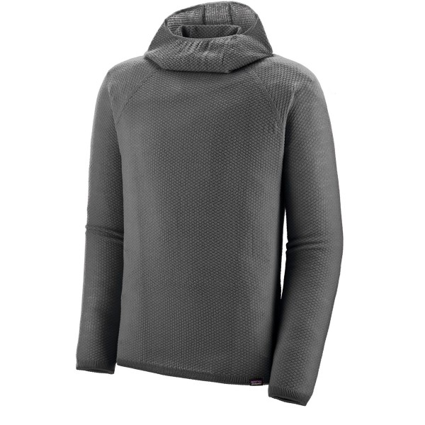 Patagonia Capilene Air Hoody (Forge Grey - Feather Grey X-Dye)