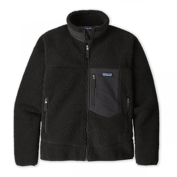 Patagonia Classic Retro-X Fleece Jacket (Black/Black)